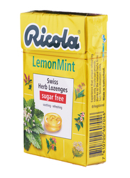 Ricola Lemon Mint Swiss Herb Lozenges, 45gm