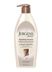 Jergens Hydrating Coconut Moisturizer Lotion, 400ml