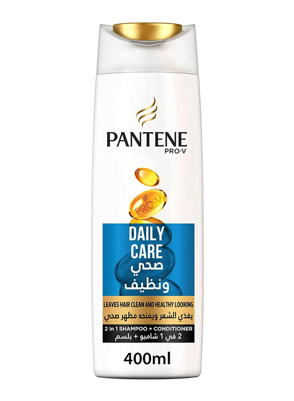 Pantene Pro-V Daily Care 2-in-1 Shampoo for All Hair Type, 400ml