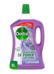 Dettol Lavender Antibacterial Power Floor Cleaner, 3 Ltr
