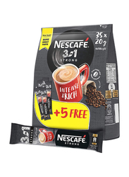 Nescafe 3-in-1 Strong Instant Coffee Mix, 35 Sachet x 20g
