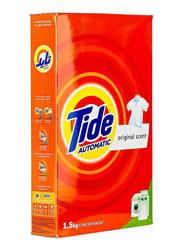 Tide Automatic Original Scent Front & Top load Detergent Powder, 1.5 Kg