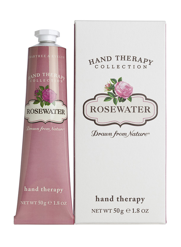 Crabtree & Evelyn Rosewater Hand Therapy, 50gm