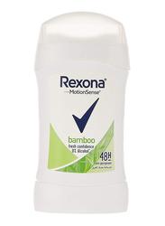 Rexona MotionSense Bamboo Antiperspirants Stick for Women, 40gm