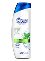 Head & Shoulders Menthol Refresh Anti-Dandruff Shampoo for All Hair Types, 400ml