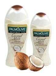 Palmolive Gourmet Spa Coconut Milk Shower Gel, 500 + 250ml, 2 Pieces