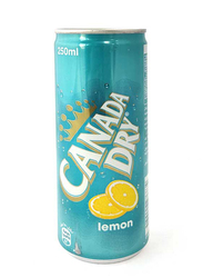 Canada Dry Lemon Soda, 250ml