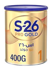 Wyeth S-26 Pro Gold Stage 1 Formula Milk Powder, 400g