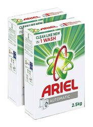 Ariel Automatic Laundry Powder Detergent Original Scent, 2.5 Kg