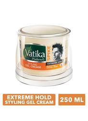 Dabur Vatika Extreme Hold Spike Styling Hair Gel Cream for All Hair Types, 250ml