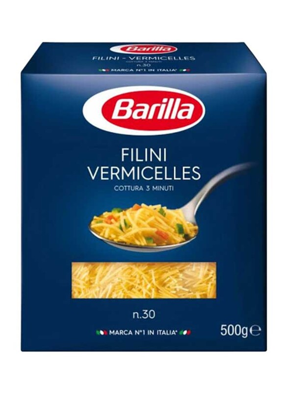 Barilla Filini Vermicelles N.30 Pasta, 500g