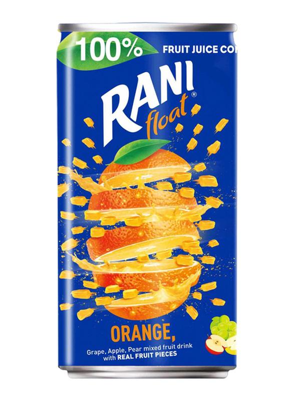 Rani Float Orange No Added Sugar Fruit Drink, 180ml