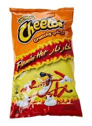 Cheetos Crunchy Flaming Hot Flavored Snacks, 205g