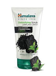 Himalaya Detoxifying Green Tea and Charcoal Exfoliating Scrub, 150ml