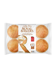Royal Bakers White Sesame Burger Bun, 6 Pieces, 360g