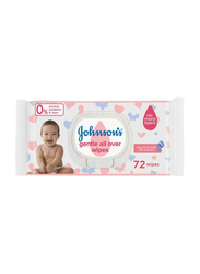 Johnson's Baby 72-Sheet Gentle All Over Wipes for Baby Unisex
