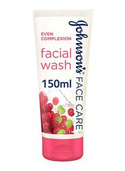 Johnson's Even Complexion Face Wash, 150ml