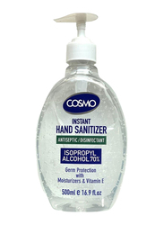 Cosmo Antiseptic Disinfectant Instant Hand Sanitizer, 500ml