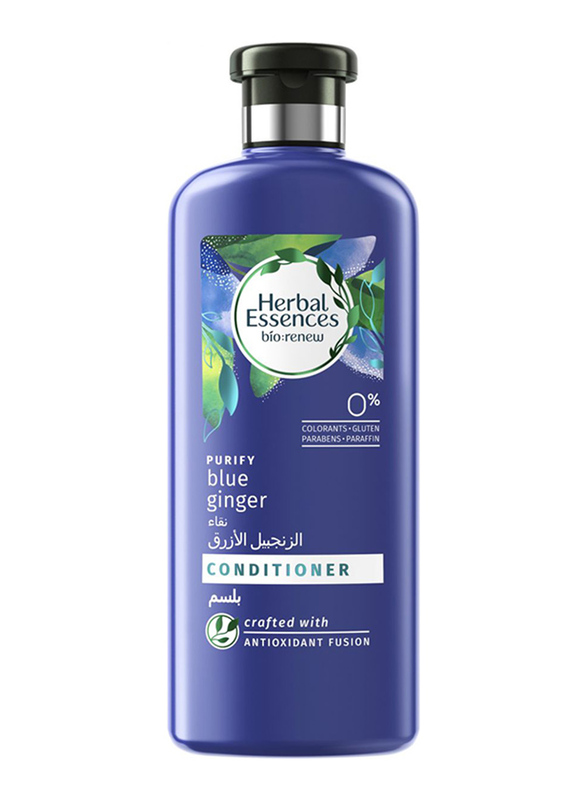 Herbal Essences BioRenew Purify Blue Ginger Conditioner for All Hair Types, 400ml
