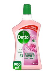Dettol Rose Antibacterial Power Floor Cleaner, 900ml