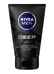 Nivea Deep Face Wash for Men, 100ml