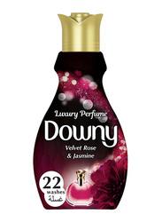 Downy Velvet Rose & Jasmine Concentrate Fabric Softener, 880ml