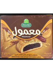 Halwani Bros Maamoul Date Filled Cookies, 12 Piece x 480g