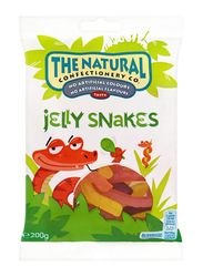 The Natural Confectionery Co Snakes Jelly, 200g