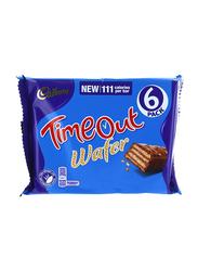 Cadbury Dairy Milk Timeout Wafer, 6 Piece, 127g