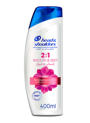 Head & Shoulders Smooth & Silky 2in1 Anti-Dandruff Shampoo & Conditioner for All Hair Types, 400ml