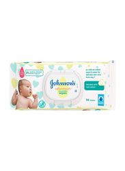 Johnson's Baby 56-Sheets Cottontouch Wipes for Babies