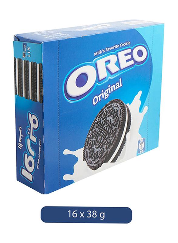 Oreo Original Milk's Favourite Cookie, 16 x 38g