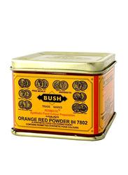 Bush Orange Red Powder Color, 100g