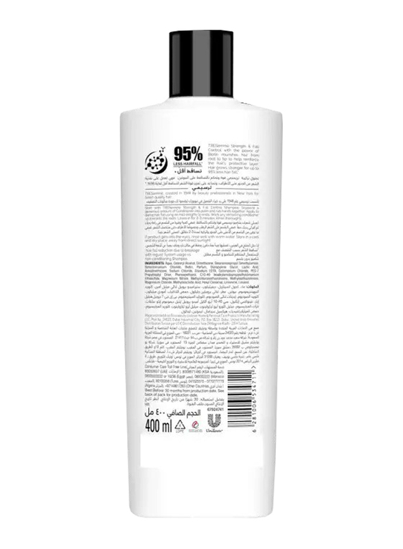 Tresemme Strength & Fall Control Conditioner for All Hair Types, 400ml