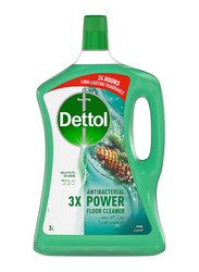 Dettol Pine Antibacterial Power Floor Cleaner, 3 Ltr