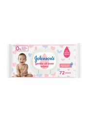 Johnson's Baby 72-Sheets Gentle All Over for Babies