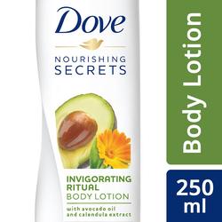Dove Invigorating Ritual Nourishing Secrets Body Lotion, 250ml