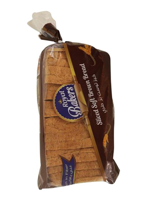 Royal Bakers Brown Sliced Bread, 600g