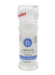 Natural Coarse Sea Salt Grinder, 110g