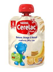 Nestle Cerelac Banana & Orange Biscuits, 90g