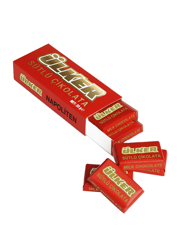 Ulker Sutlu Cikolata Milk Napoliten Chocolate, 33g