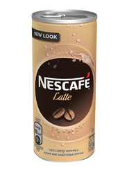Nescafe Ready-To-Drink Latte Chilled Coffee, 6 Can x 240ml