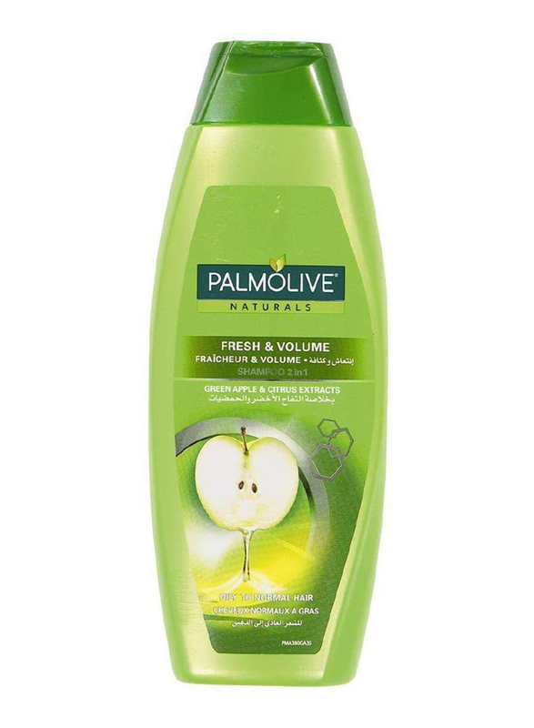Palmolive Fresh & Volume Shampoo for Oily to Normal Hair, 380ml