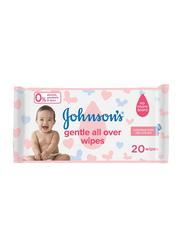 Johnson's Baby 20-Sheets Gentle All Over for Babies