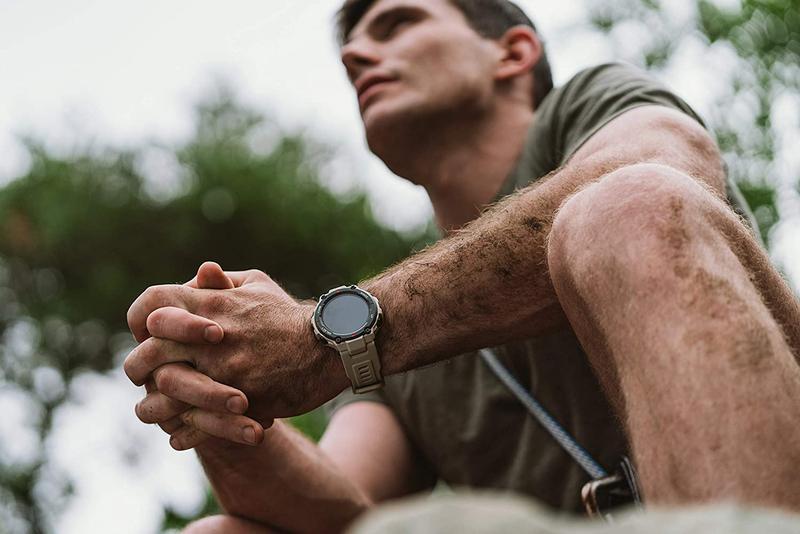 Xiaomi Amazfit T-Rex A1919 Smartwatch, GPS, Khaki