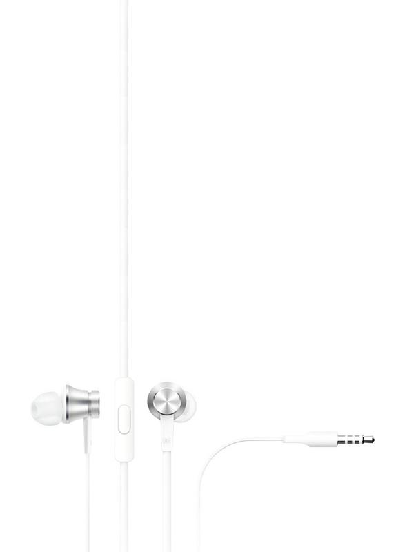 Xiaomi Mi ZBW4355TY 3.5mm Jack In-Ear Headphones, Basic Silver