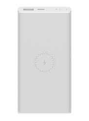 Xiaomi 10000mAh Mi Wireless Essential Power Bank with USB Type-C, White
