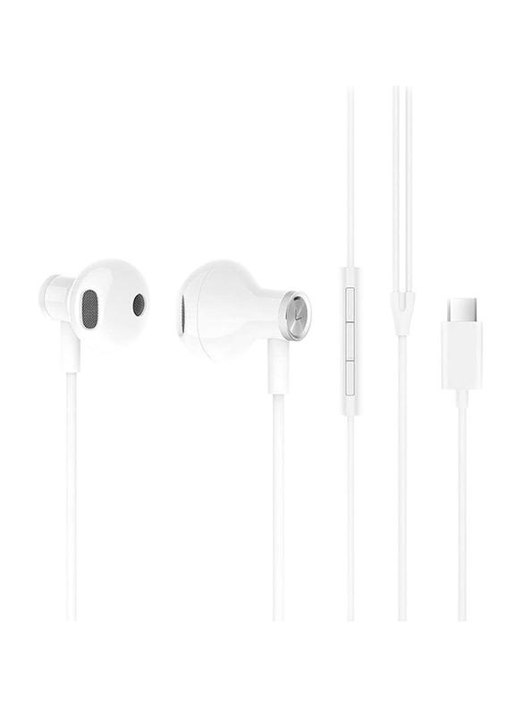 Xiaomi Mi Type-C In-Ear Dual Driver Earphones, White