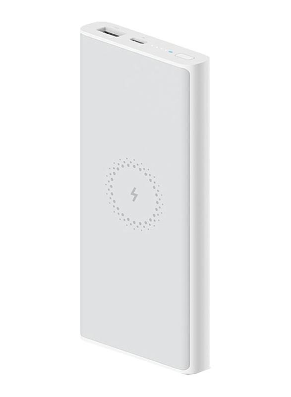 Xiaomi 10000mAh Mi Wireless Essential Power Bank with USB Type-C, White