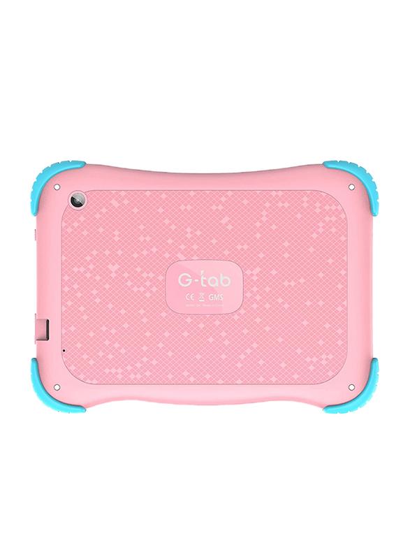 G-Tab Q4 16GB Pink 7-inch Kids Tablet, 1GB RAM, Wi-Fi Only